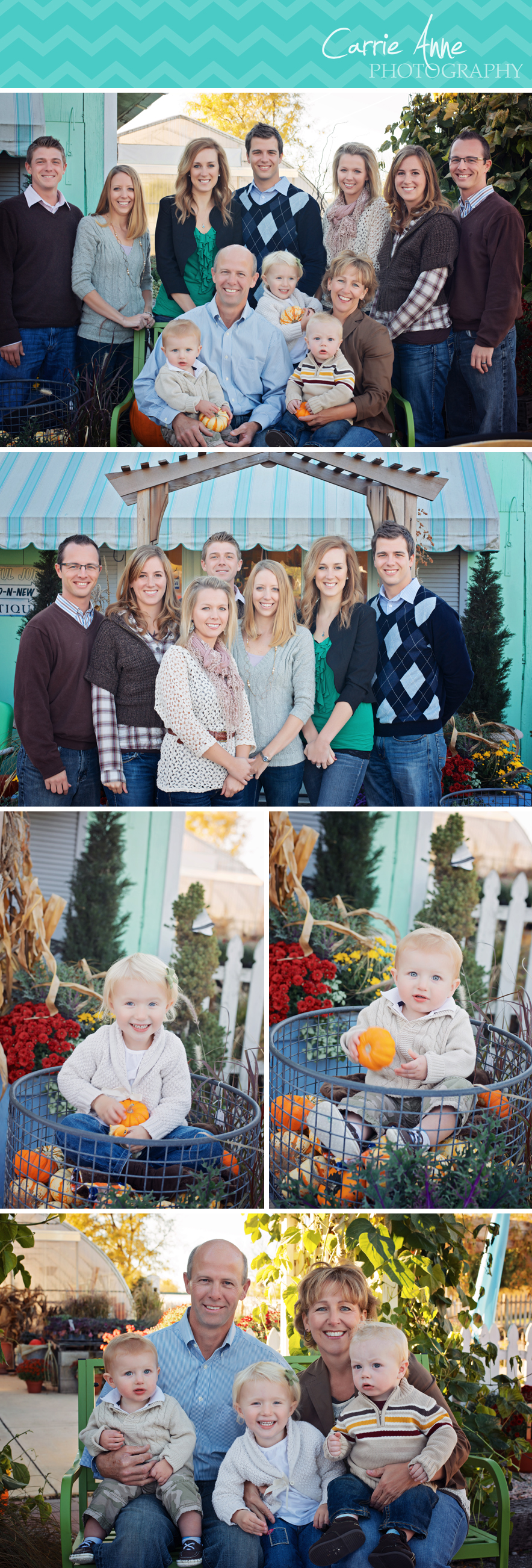 Extended Family Photography in Grand Rapids, Michigan Carrie Anne Photography