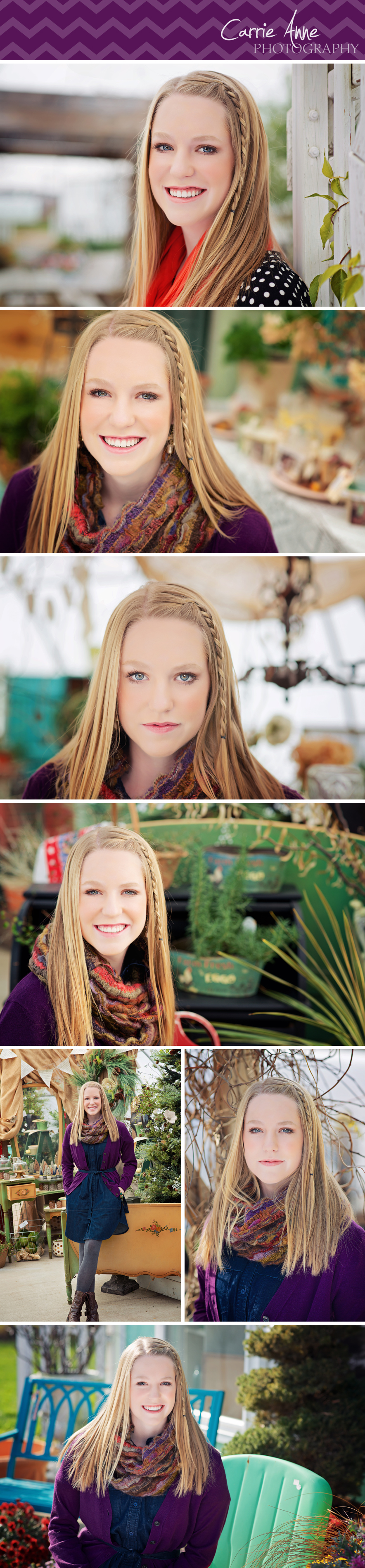Senior Portrait Photography Carrie Anne Photography in Grand Rapids, Michigan