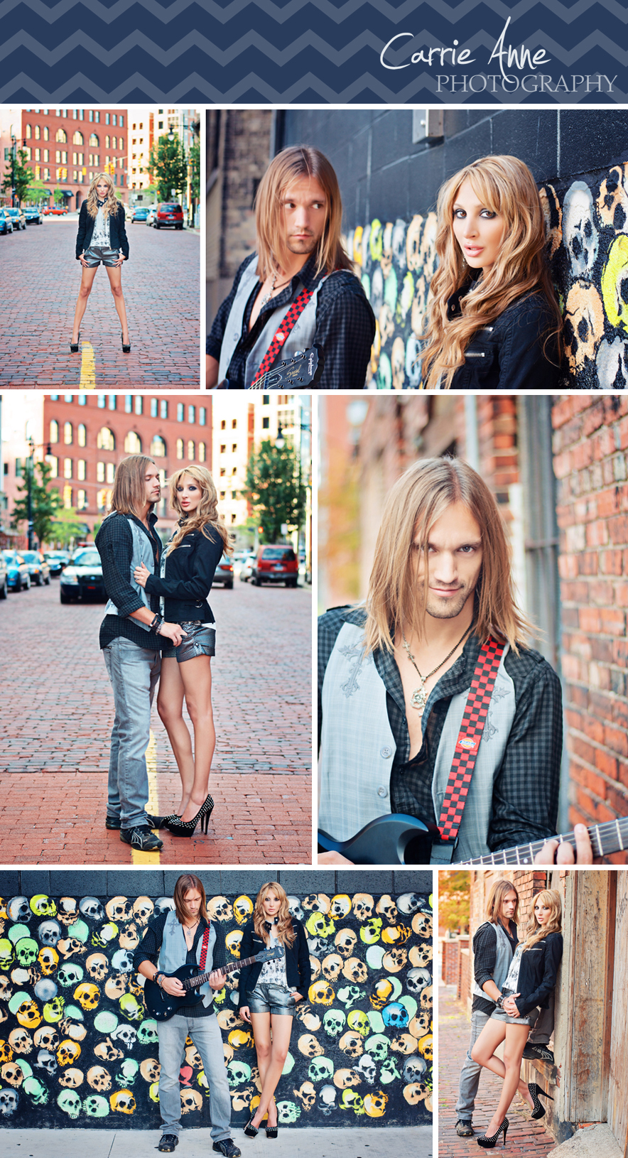 Hip, Urban Rock & Roll Couples Photo Session, Grand Rapids Senior Photographer, Grand Rapids Couples, Hip, urban, downtown Grand Rapids