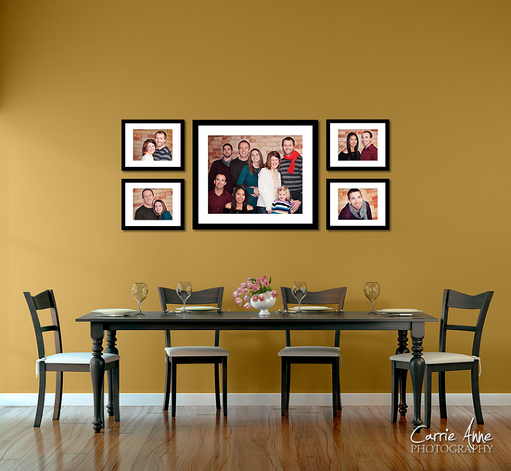 wall display ideas the bopp family grand rapids family photographer carrie anne photography. Black Bedroom Furniture Sets. Home Design Ideas