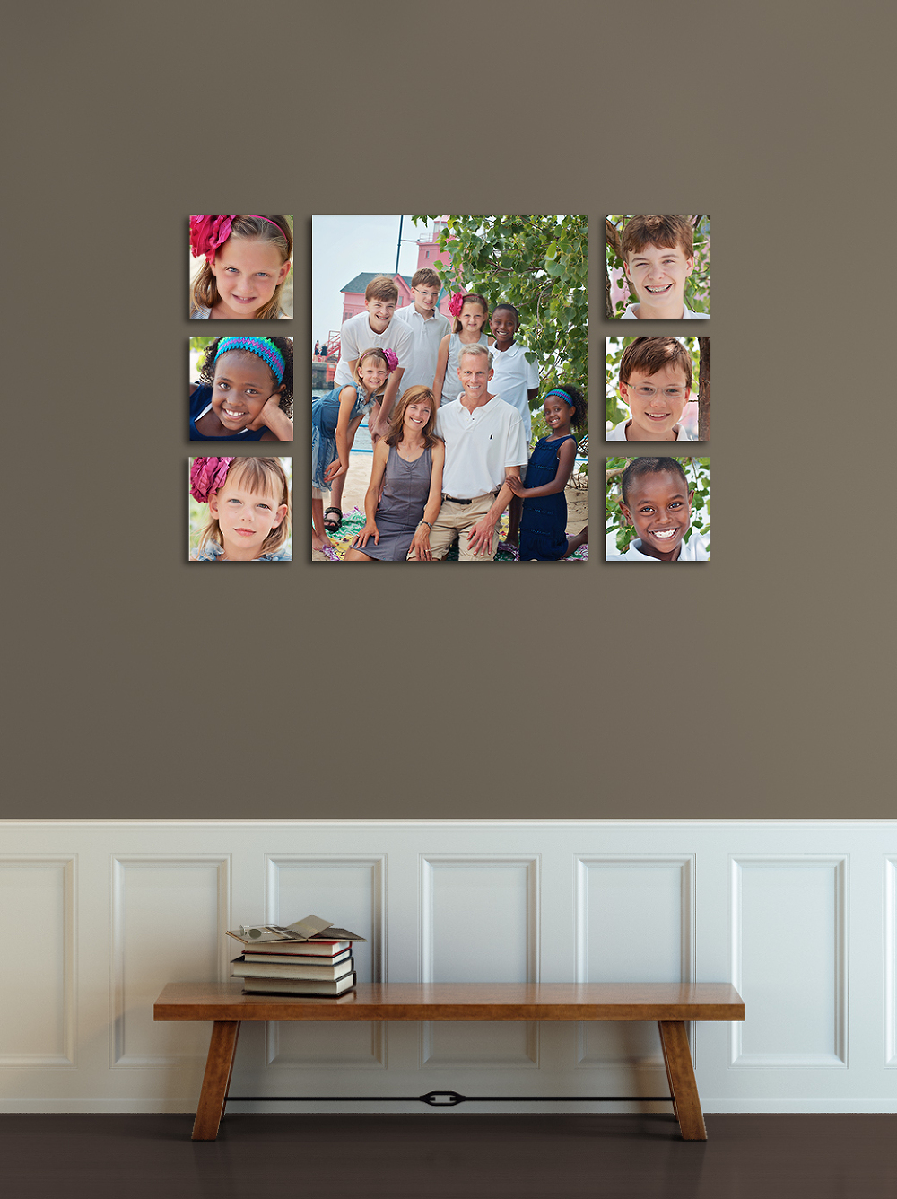 Wall display ideas carrie anne photography grand for Picture wall display