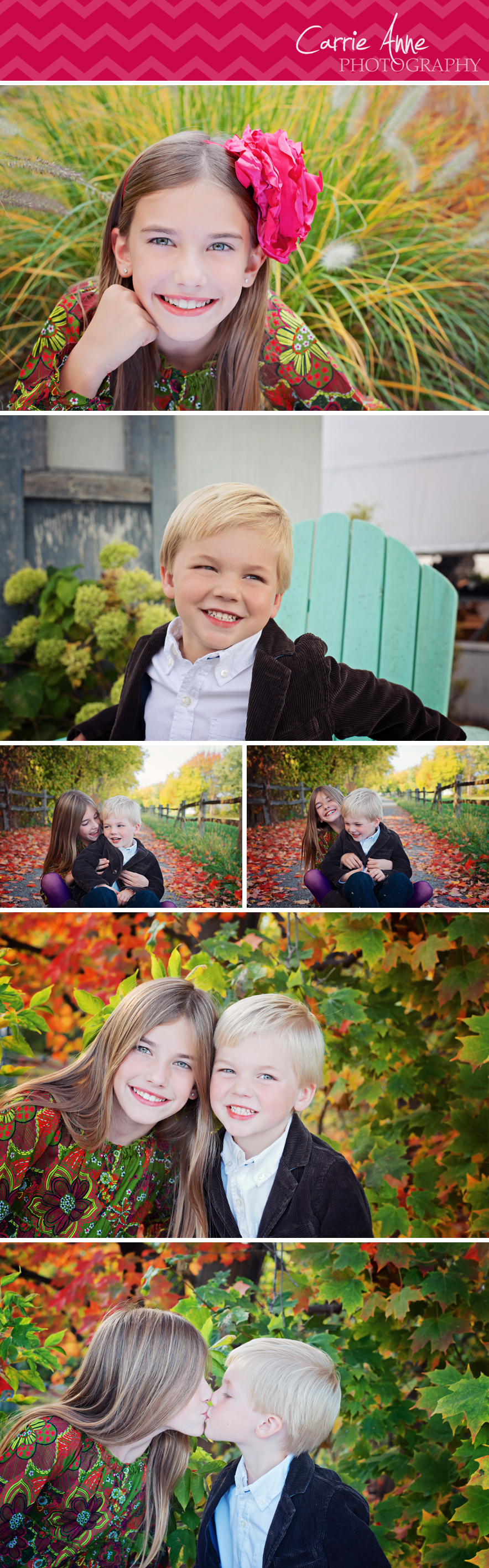 Unique and colorful family photography by Carrie Anne Photography