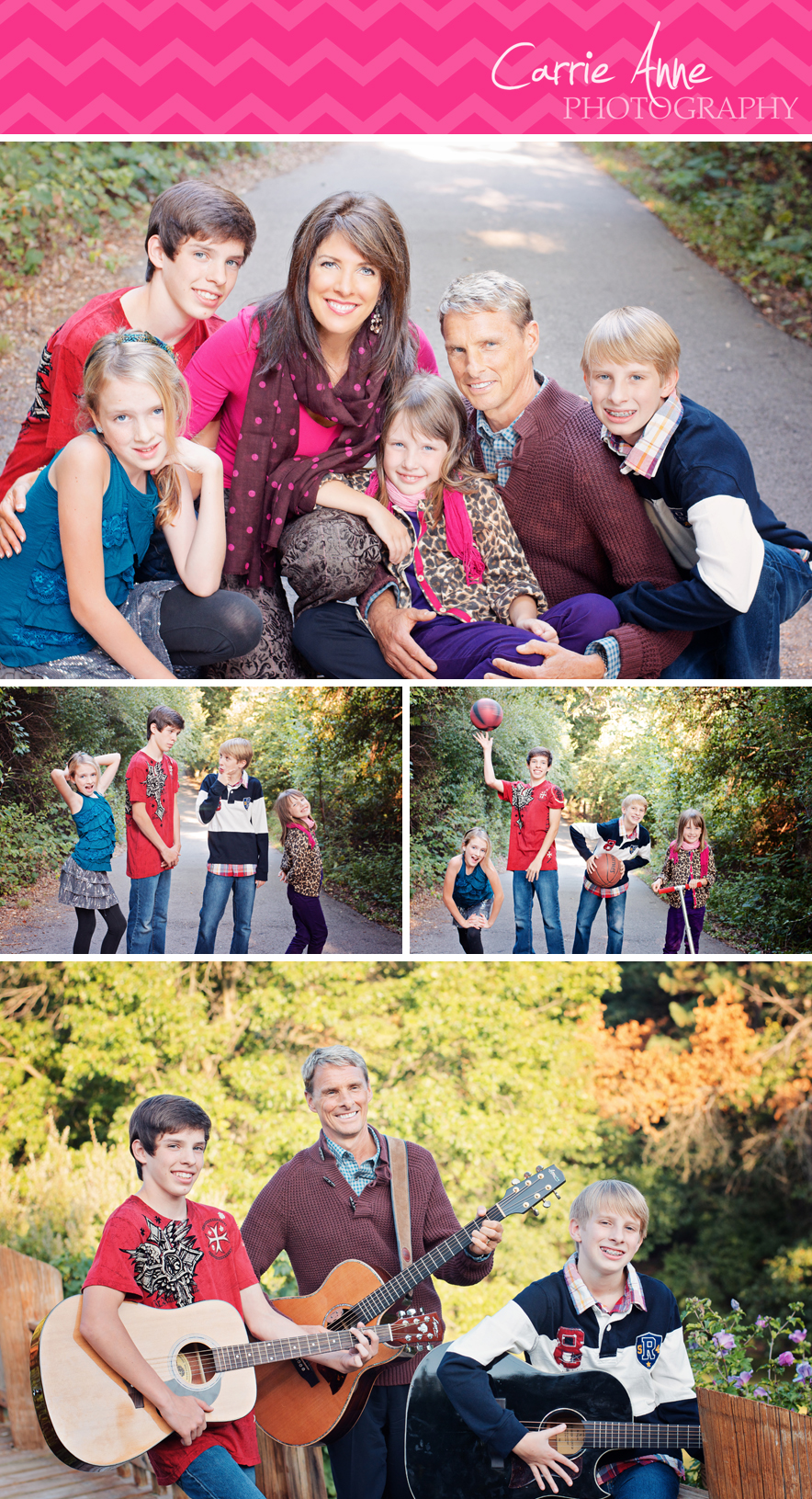 Colorful Family and Children Photography in Ada Michigan by Carrie Anne Photography