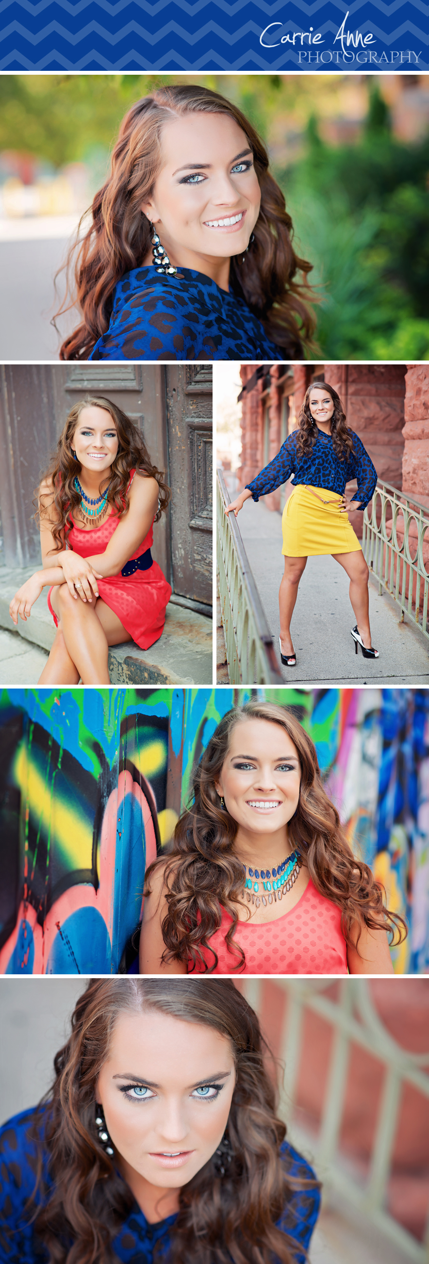 Ultimate Senior Girl Session in Urban Ada, Grand Rapids, Cascade, Michigan. Natural, funky, bright, cheery, colorful, photography.