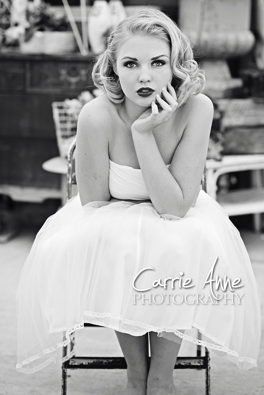 Carrie Anne Photography-Marilyn Monroe Session